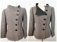 Armani Collezioni Women's 100% Virgin Wool Blazer Jacket Made in Italy Size 6