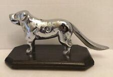 Antique Cast Iron Dog Nutcracker Chrome Finish