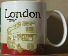 Starbucks City Icon Mug London Version 2, 16 oz mit SKU-Stick RARE