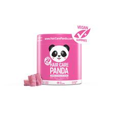 HAIR CARE PANDA healthy vegan jelly beans gummies for long strong hair 60 jellys