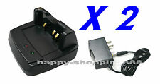 2 x GS-41A+Charger for Yaesu VX-8R/8GR,FT1DR,CD41,FNB102L,vertex ,horizon part