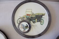 "Vintage Car Metal Tray with Coasters 1911 Ford Model ""T"" NEW! L#710"