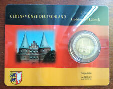 GERMANY 2006 - set of 4 - 2 € - COINCARDS - Holstentor - A, J, D, G