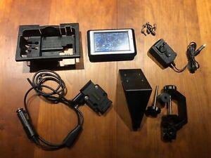 Garmin Aera 500 Aviation GPS System With Accessories Working w/ AirGizmos mount