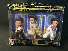 """Barbie Tommy As Elvis 3 Mini Collector Edition Dolls 4 1/2"""" Ce 2003 #B3465 *To"""