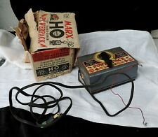 VINTAGE 1960s MARX #6049 HO POWER PACK TRANSFORMER W/ ORIG. BOX.