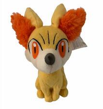 Tomy Pokemon Fennekin Yellow Fox Orange Tipped Tail Plush 2013 Original Tags