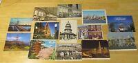 13 California Postcards