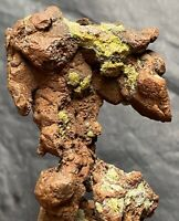 120g Great Copper Crystal Group From Quincy Mine, Houghton Co, Michigan