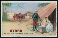 advertising Byrrh French Wine for Arab Morocco original c1910s postcard
