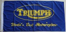Triumph Motorcycle Flag Auto Car Bike Triumph Flag Banner
