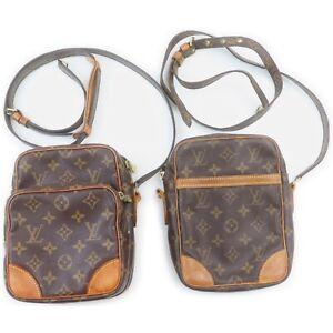Louis Vuitton Monogram Shoulder Bag 2 pieces set 519067