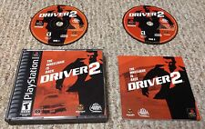 PS1 DRIVER 2 Complete driving video game PlayStation 2000