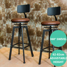 INDUSTRIAL RUSTIC RETRO METAL BREAKFAST BAR STOOL KITCHEN COUNTER CHAIR 220LB