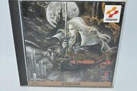 PlayStation PS Akumajo Dracula X Symphony of the Night CASTLEVANIA