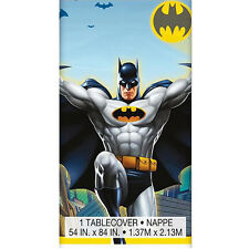 BATMAN Gotham Hero PLASTIC TABLE COVER ~ Birthday Party Supplies Decorations DC