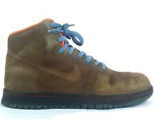 NIKE DUNK HIGH 1 PIECE GORTEX ADVENTURE PACK ARMY Size 10.5 Used Well Worn 2006