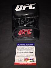 Paige VanZant Signed UFC Boxing Glove Champion Comeback PSA/DNA #4