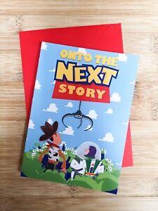 Onto The Next Story Card - Goodluck / New Job House / Wedding / Buzz / Toy Story