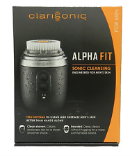 NEW IN BOX - CLARISONIC Alpha Fit Sonic Skin Facial Cleansing System for Men