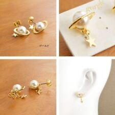 Mode-Ohrschmuck im Ohrstecker-Stil mit Stern-Perlen