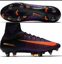 NEW Nike Mercurial Superfly V SG-PRO UK 7.5 Ronaldo Messi 831956-585 Purple SALE