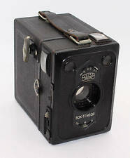 Zeiss Ikon Caja Tengor 54/2 120 Película de Cámara De Caja Y Estuche De Cuero c1938 En Muy Buen Estado/Probado