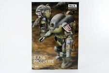 Wave Maschinen Krieger S.A.F.s. prototype 1/20 scale Height approx 10.5cm plasti