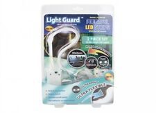 Guardia Luce flessibile ultra luminosa 9 LUCI A LED STRISCIA Armadi Batteria Set di 2