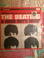 The Beatles A Hard Days Lp Night UAS 1968 In Shrink Price Point  I Cry Instead
