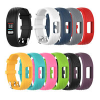 Armband aus Silikon mit Diamantlinien Armband für Garmin VivoFit 4 Smart Tracker
