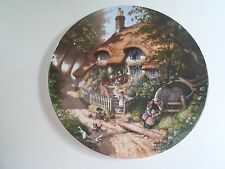 GRANNY'S COTTAGE Plate By Robert Hersey Coalport China Tale of a Country Village