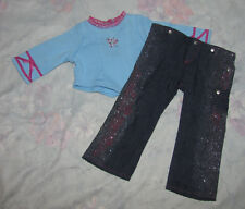 American Girl of Today Doll Glitter Jeans Outfit - 2003-2005 - Pants, Shirt Only
