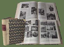 Rivista Mensile del Touring 1902 - 1903  Este Sicilia Bardi Eolie Moncenisio