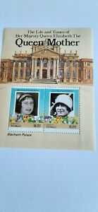 Tuvalu Islands Stamps Funafuti Queen Mother  Life and Times Min. Sheet