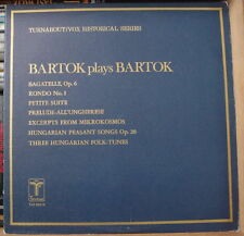 BARTOK PLAYS BARTOK TURNABOUT/VOX HISTORICAL SERIES THS-65010