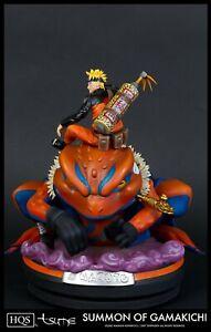 Brand New! TSUME HQS Naruto Summon of Gamakichi statue~ Grail !!