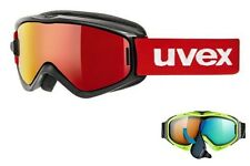 Uvex Speedy Pro Take Off Black Red Kids Glasses Snowboard Glasses Ski Goggles 16/17