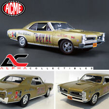ACME A1801206 1:18 1966 PONTIAC GTO ACE WILSON'S ROYAL TIGER NHRA DRAG