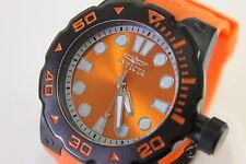 New Invicta 17800 Orange Master Of The Ocean Bold Sport Watch