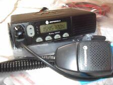 MOTOROLA CM300 VHF 45 WATT 32 CHANNEL RADIO WITH  NEW ACCESSORIES BLACK MIC