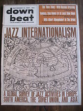 Down Beat Magazine Sept. 10, 1964 Jazz Internationalism - Europe, S.America,USSR