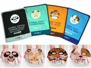 Facial Face Mask Sheet Hydrating Moisturiser For Unisex