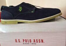 U.S.Polo ASSN. Scarpe Camoscio Blu Mia. 43