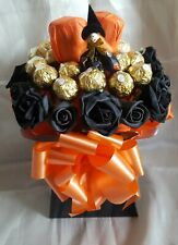 Halloween Witch Chocolate Bouquet & Yankee Candles - Sweet Gift Hamper