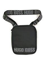 Hugo Boss Side Bag Messenger Bag Mens Kids  - Black - RRP £70 - New