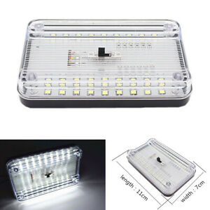 36LED Interior Roof Light Ceiling Reading Indoor Trunk Lamp Fit for Car Vehicle