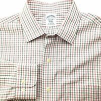 Brooks Brothers Non Iron Regent Fit Stripe Men Dress Shirt 16-33 Supima Cotton
