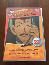 DETECTIVE CONAN DVD 23 - 1 DVD - 2 CAPS - 50 MIN - JONU MEDIA PLANETA DEAGOSTINI