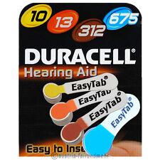 DURACELL EasyTab Hörgerätebatterie alle Typen 10 - 13 - 312 - 675